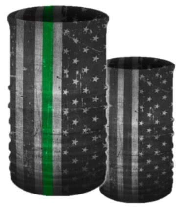 Service Flags Transformer Tube-GREEN