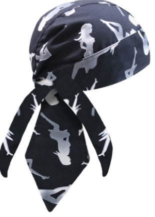 Mud Flap Girl Headwrap w/HEADGRIPPERS