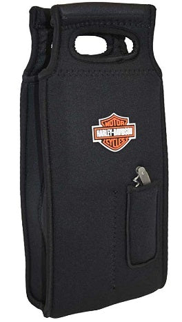 H-D Samba 2-Bottle Neoprene Wine Tote