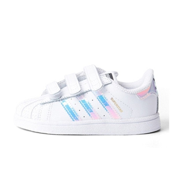Kids Adidas Superstar Tape