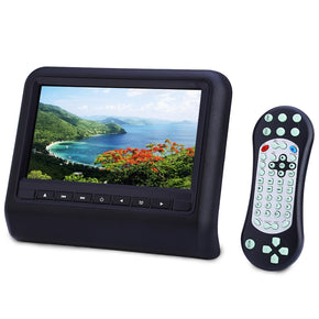 XD9901 9 Inch Universal Car Headrest DVD Player 800 x 480 LCD Screen Backseat Monitor