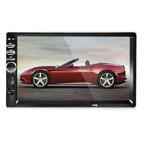 7018B 7 Inch Bluetooth V2.0 Car Audio Stereo Touch Screen MP5 Player Support TF MMC USB FM Radio