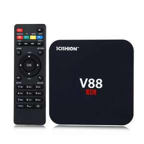 SCISHION V88 TV Box Rockchip 3229 Quad Core 4K H.265 1GB DDR3 RAM 8GB eMMC ROM Mini PC