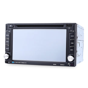 6202B 6.2 inch Bluetooth V3.0 Car Stereo Touch Screen DVD Player GPS Navigation SD USB Steering Wheel Control FM Radio