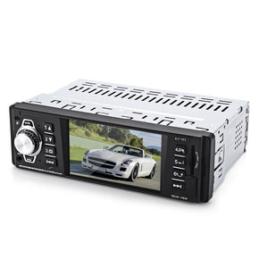 4016C 4.1 Inch Embedded Car MP5 Player with USB SD AUX Ports LCD Display