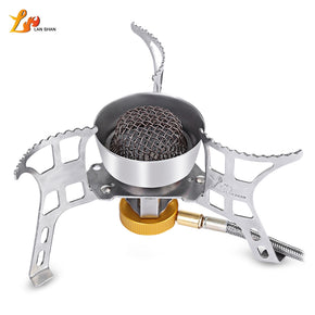 LANSHAN ZYH - 001 Picnic Big Power Windproof Gas Stove