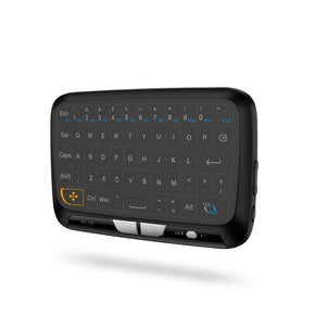 H18 Mini Wireless Keyboard Touchpad Mouse