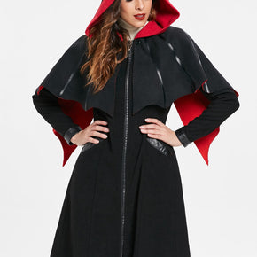 Zip Front Halloween Costume Coat