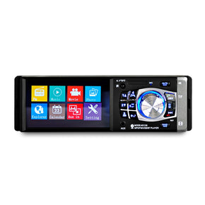 4012B 4.1 inch Vehicle-mounted MP5 Player Radio Multimedia Audio Video with Rear Camera