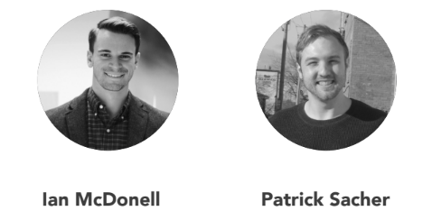 Cofounders Patrick Sacher and Ian McDonell