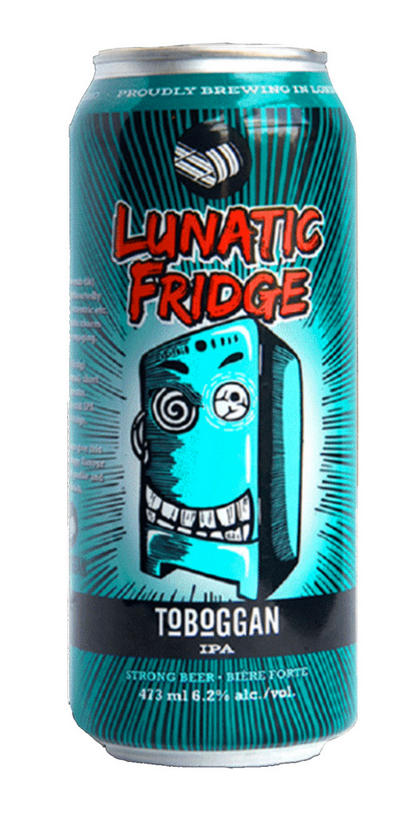 Toboggan Brewing Lunatic Fridge IPA- 473 mL can