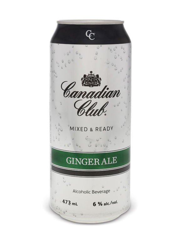 Canadian Club & Ginger Ale 473 mL can