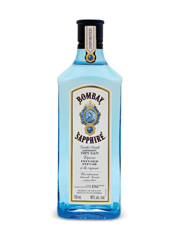 Bombay Sapphire London Dry Gin 750 mL bottle