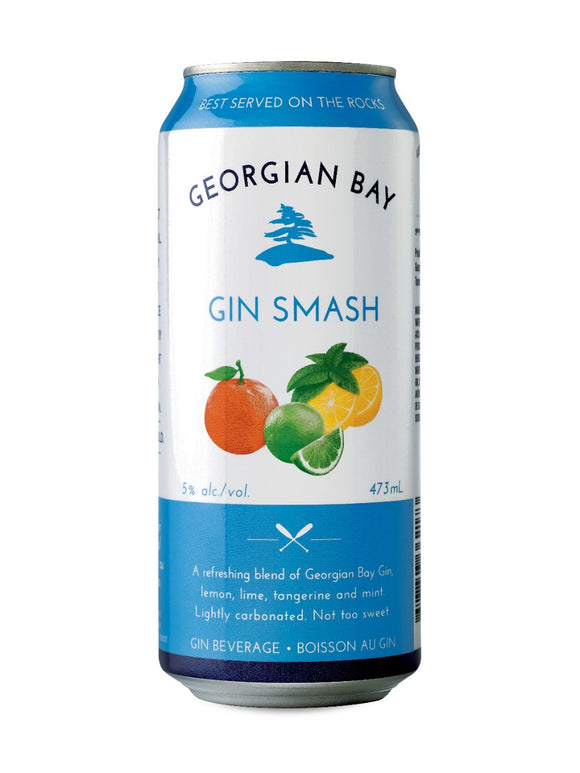 Georgian Bay Gin Smash 473 mL can