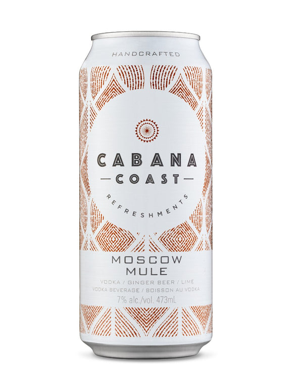 Cabana Coast Moscow Mule 473 mL can