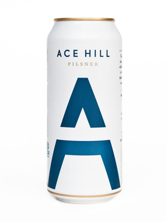 Ace Hill Pilsner 473 mL can