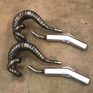 Honda CR500 1989 Exhaust and silencer