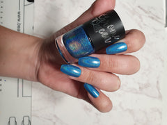 Chrome Queen - Holographic Nail Polish - Sapphire