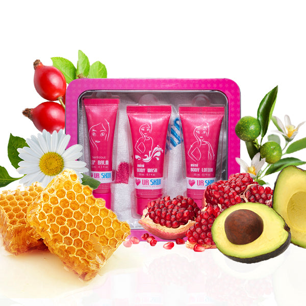 Body Pack (trio set travel size)