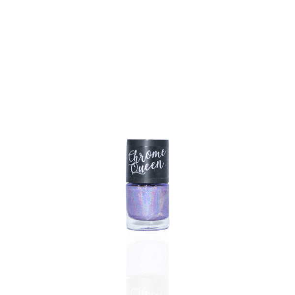 Chrome Queen - Holographic Nail Polish - Purple Rain