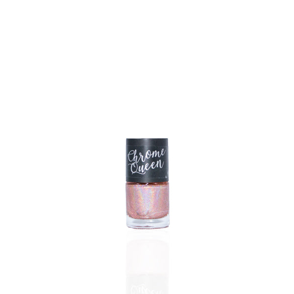 Chrome Queen - Holographic Nail Polish - Rose Gold