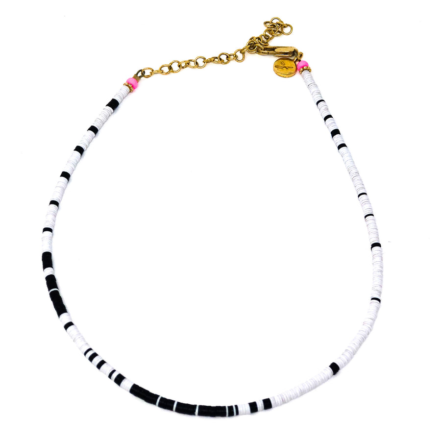 The Louise Choker | Kiara Black and White