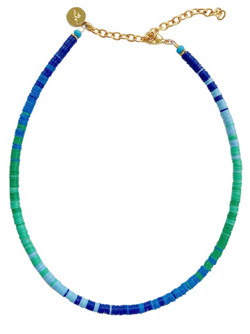 The Louise Collection | Choker | Blue Lagoon