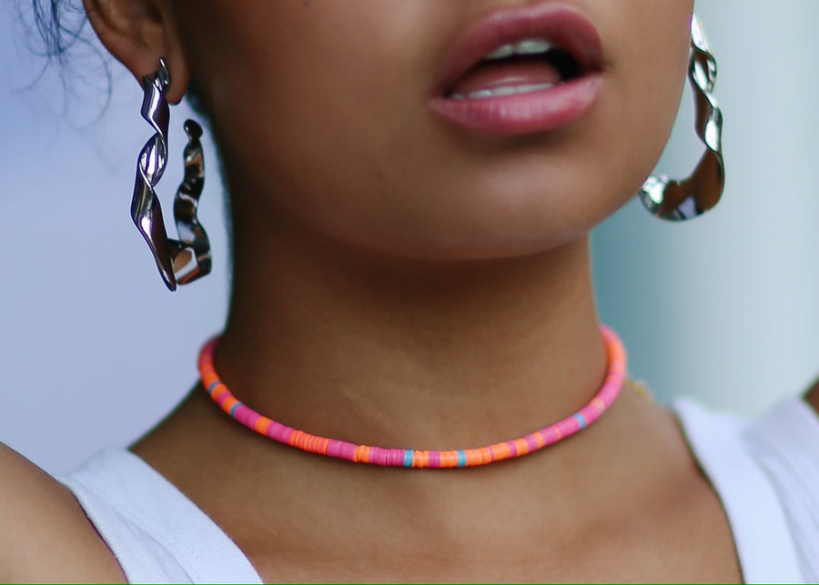 The Louise Collection | Choker | Coral Reef