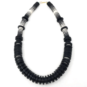 The Ranny Collection | Black | Ivory Necklace