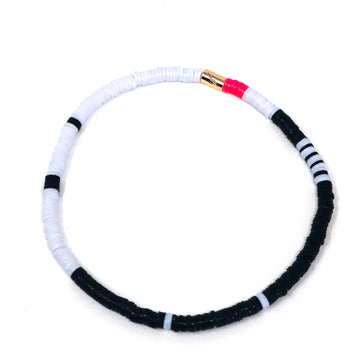 Kiara Mini Bracelet - Black and White