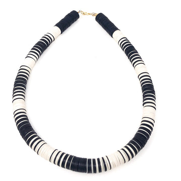 The Jackie Collection | Black | Ivory Necklace