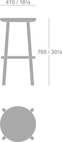 Ai Bar Stool 30 inch