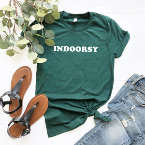 Indoorsy Shirt (White Text)