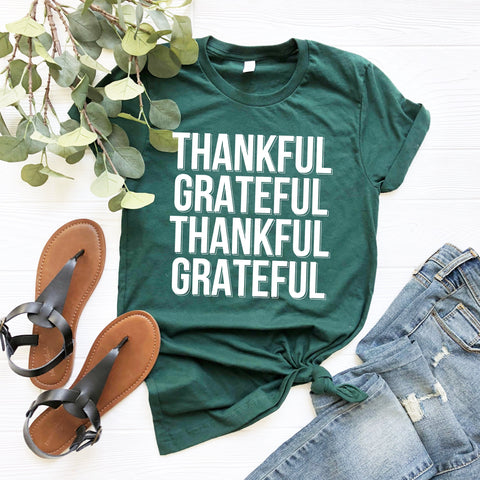 Thankful Grateful T-Shirt