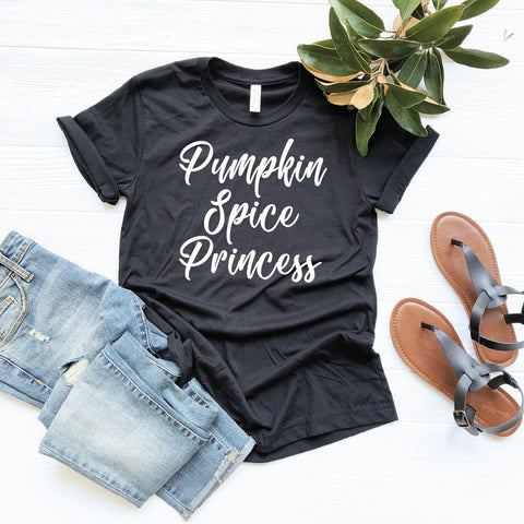 Pumpkin Spice Princess T-Shirt