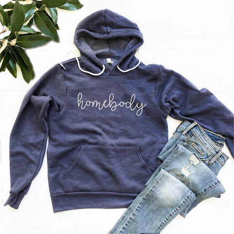 Homebody Hoodie Sweatshirt (Handwritten Text)