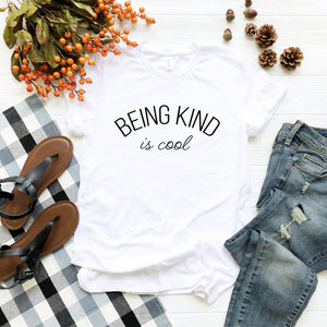 Being Kind is Cool Tee (Curved Text)
