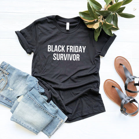 Black Friday Survivor Shirt