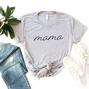 Mama T-Shirt (Black Handwritten Text)