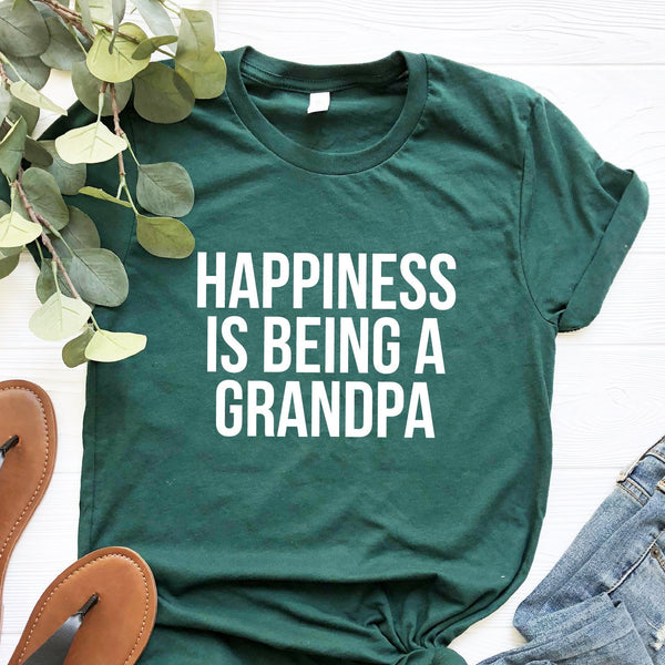 Happiness Is Being A Grandpa T-Shirt