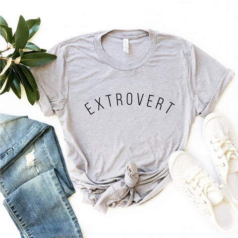 Extrovert Shirt (Curved Text)