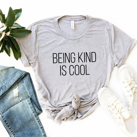 Being Kind is Cool Tee (Block Text)