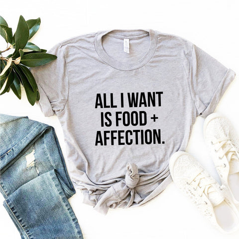 Food + Affection T-Shirt