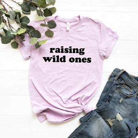 Raising Wild Ones Unisex T-Shirt