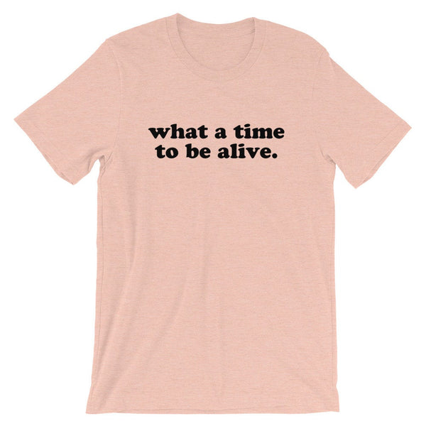 What A Time To Be Alive T-Shirt