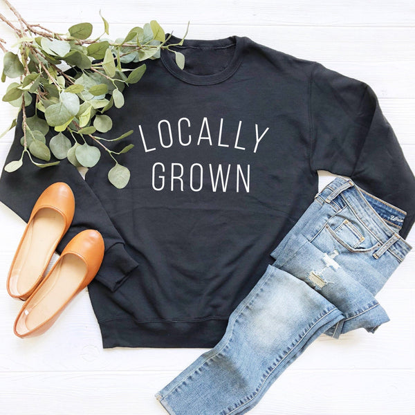 Locally Grown Crewneck Sweatshirt