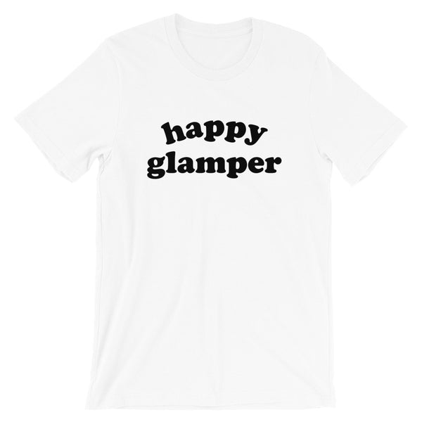 Happy Glamper Shirt (Groovy Text)