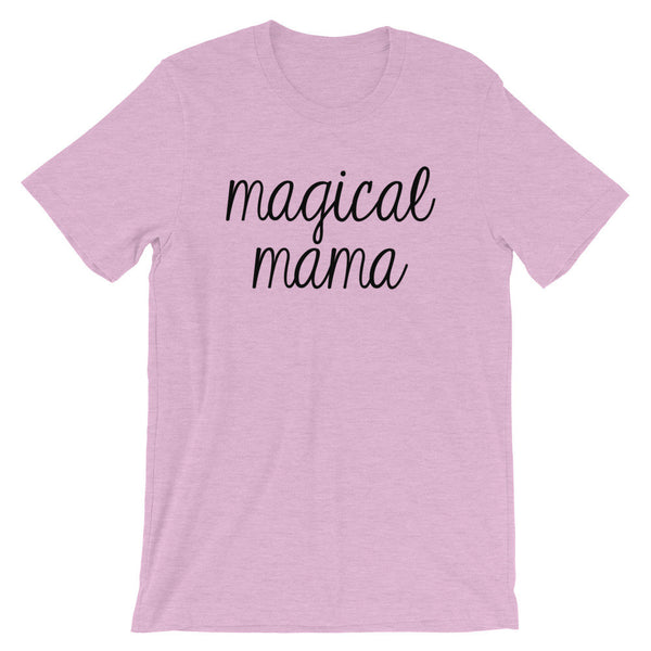 Magical Mama Tee Shirt (Black Handwritten Text)