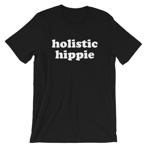Holistic Hippie T-Shirt (Groovy Text)