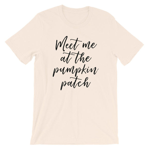 Meet Me At The Pumpkin Patch Tee (Handwritten Text)